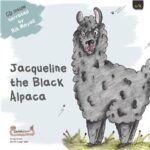 Jacqueline the Black Alpaca