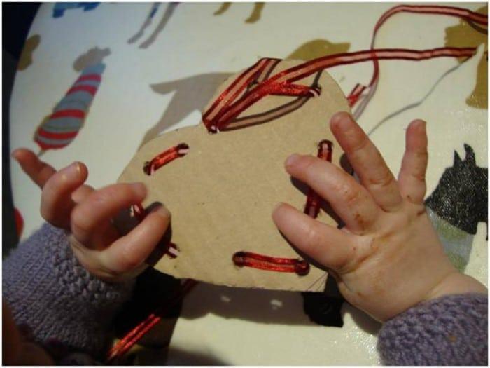 Toddler valentines cards