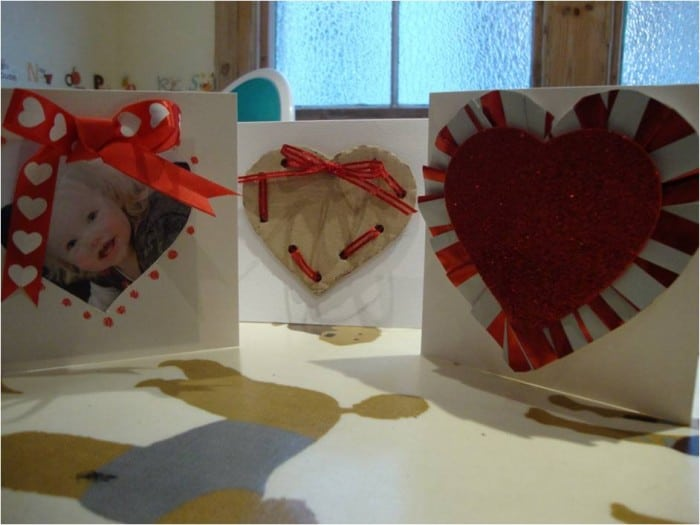 how to make a valentines card with your toddler