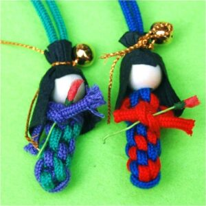 0 Japanese Scoubidou Dolls