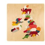 George Luck Great Britain & Eire Puzzle