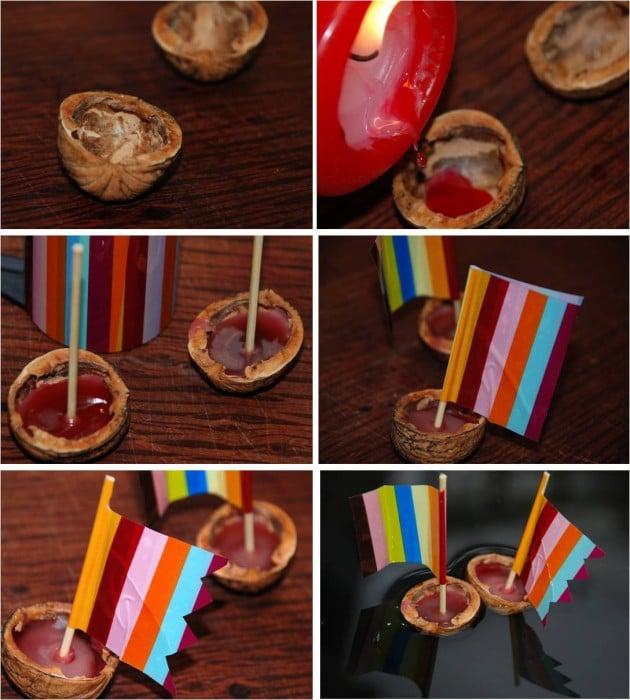 Kids Get Crafty – Walnut Boats