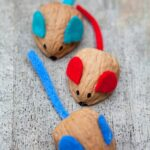 Kids Get Crafty: Walnut Mouse Racing