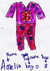 Amelia Keys age 8