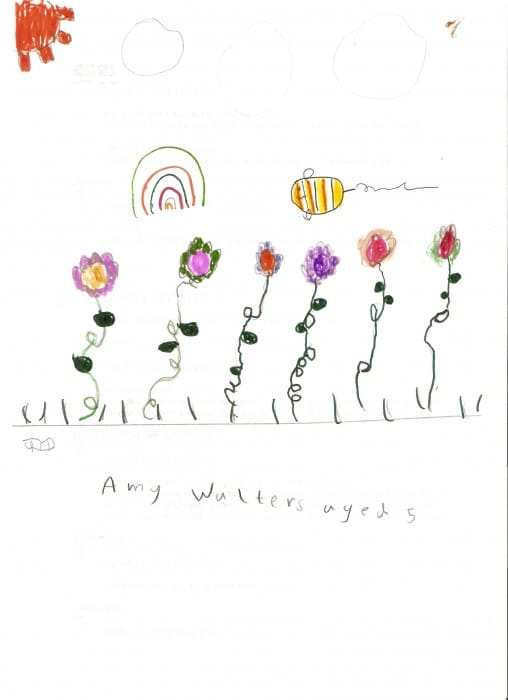Amy's flower garden