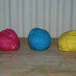 Kids Crafts – Coloured Salt Dough Recipe