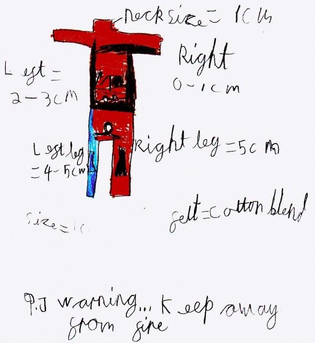 Harry Wilson-Mew age 7