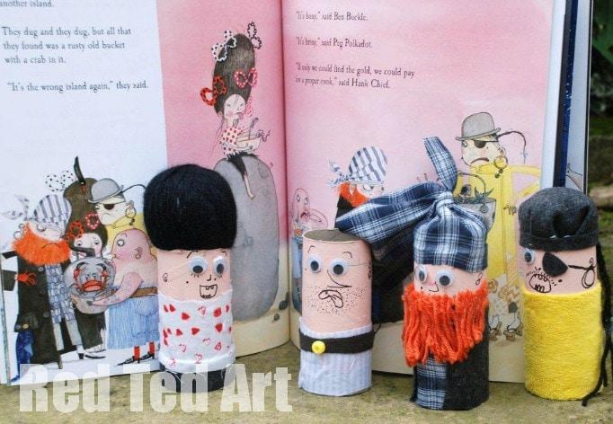 The Troll Loo Roll Crafts