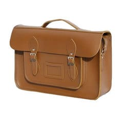 brown satchel with handle  batchel real leather  handmade in UK  cambridge satchels