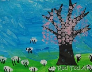 Kids Get Crafty: Spring Picture (March Calendar)