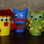 Kids Get Crafty: Loo Roll Monsters