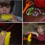 Kids Get Crafty: Loo Roll Monsters