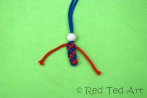 how to make a scoubidou doll