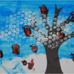Kids Get Crafty: Winter Scene (for Calendar – January)