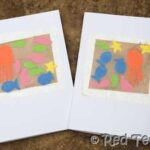Kids Get Crafty – Sand Art & Crafts (Contact Paper Card Making)