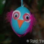 Kids Get Crafty: Egg Birds & Owls (Egg Blowing Part 2)