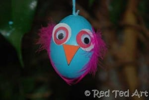 Kids Get Crafty: Egg Birds & Owls (Egg Blowing Part 2)