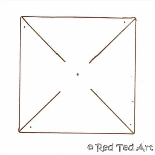 pinwheel template - Red Ted Art's Blog