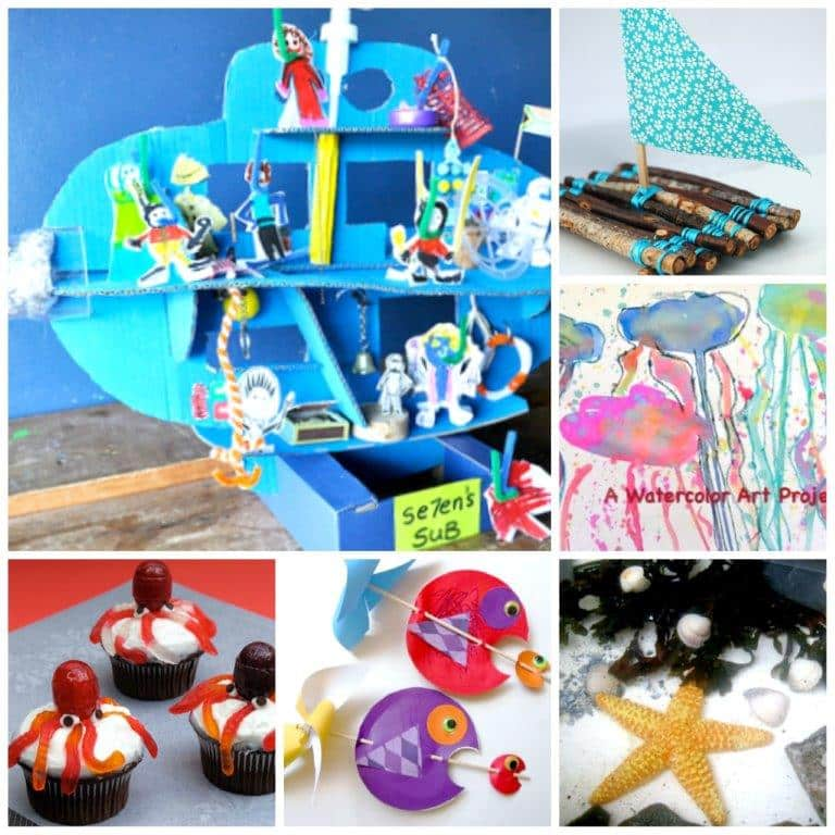 Ocean Crafts Summer Crafts To Inspire You Red Ted Arts Blog
