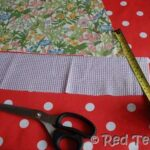 Pillow Case Dress - Cutting Fabric