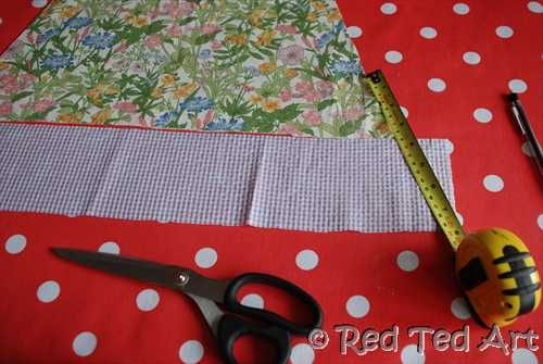 Pillow Case Dress – Cutting Fabric