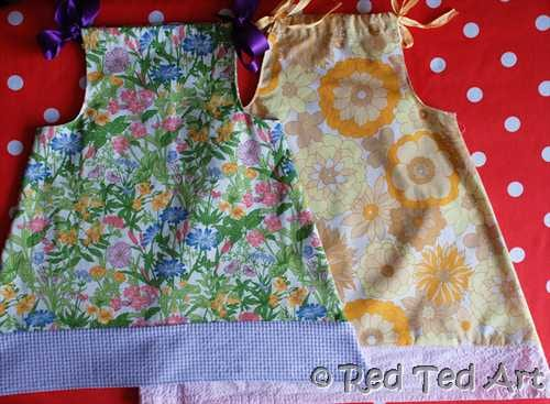 How To Make A Pillow Case Dress For Beginners Red Ted Arts Blog
