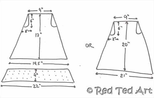 How To Make A Pillow Case Dress For Beginners Red Ted Art's Blog New Free Pillowcase Dress Pattern