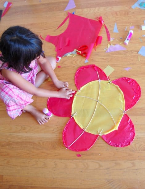 How To Make A Beautiful Kite Red Ted Art