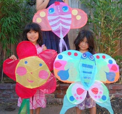home made kites