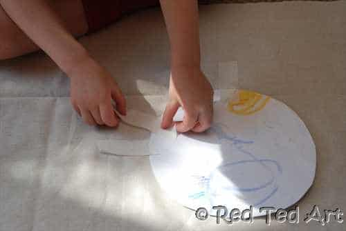 Kids Crafts: Making Flags with Kids