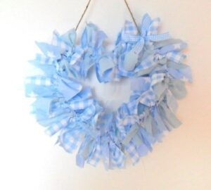 heart wreaths tutorial
