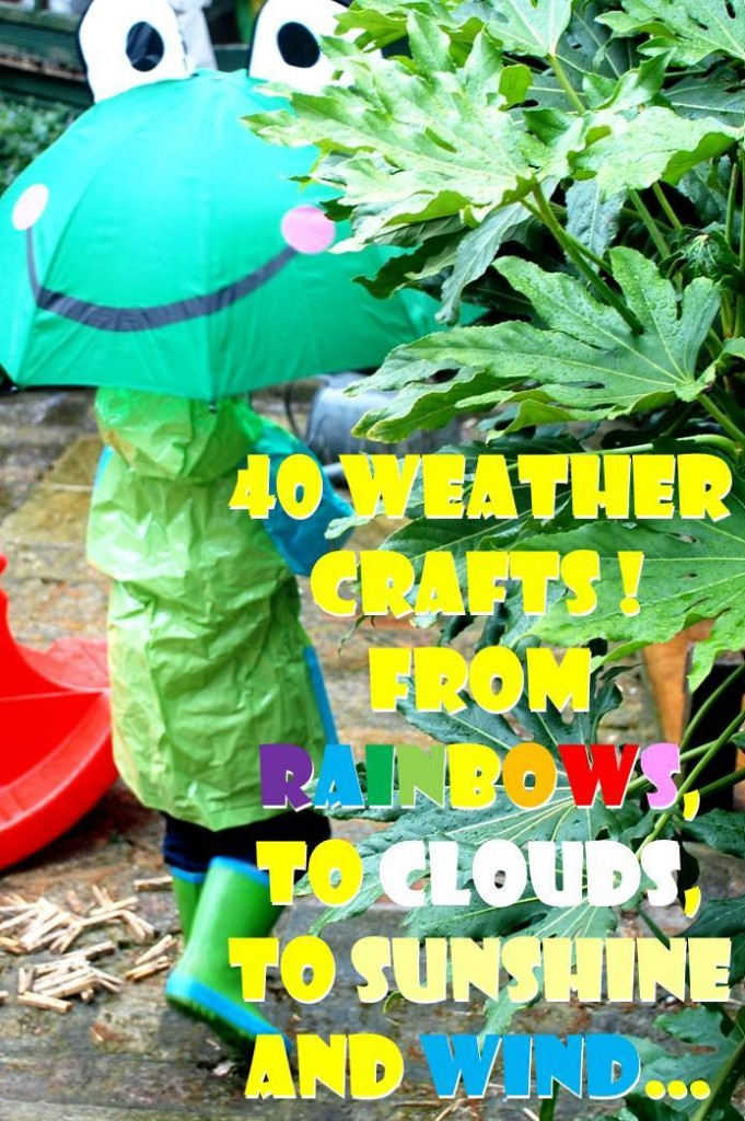 Weather Get Crafty - Weather Themed Crafts and Tutorials