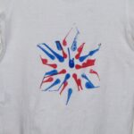 spin art t-shirt star