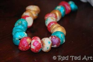 salt dough beads