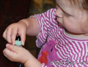 bead threading for kids