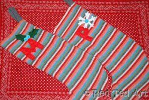 easy christmas stocking