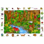 Where in the Wood? Puzzle – Orchard Toys