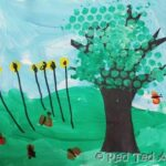 Kids Craft: Summer Picture Craft (Calendar Project)