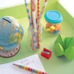 back to school decorative pencils