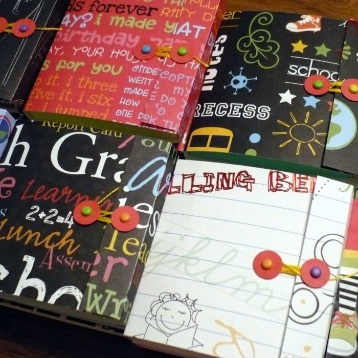 sticky notebooks back to school