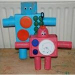 crafts for boys robots