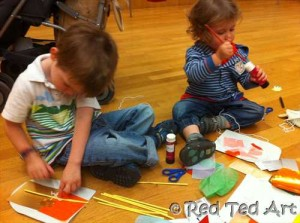 art galleries with kids
