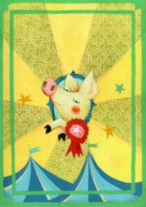 Charlottes Web Illustration by Teresa Merfin