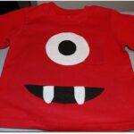 crafts for boys monster tee