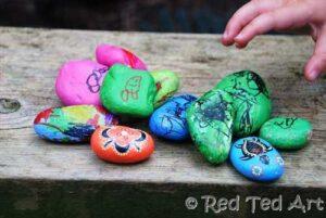 indigenous inspired stones