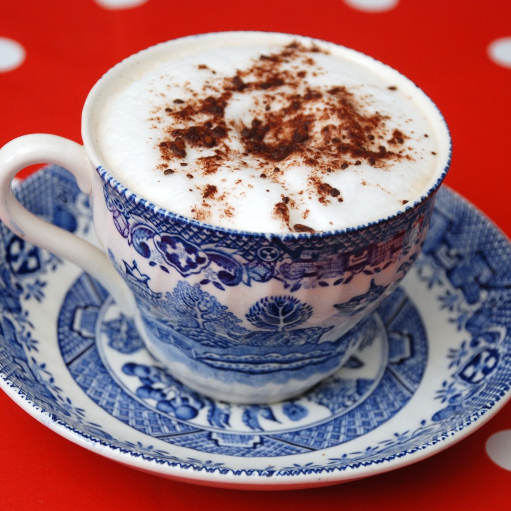how to make cappuccino art at home