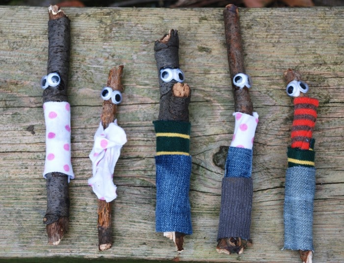 Quick Kids Craft: Stick Men