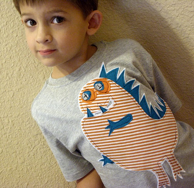 crafts for boys dino tee