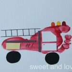 fire truck crafts for boys