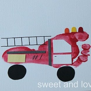 Fire Truck Craft Preschool http://www.redtedart.com/2011/09/01/boy-get-crafty/fire-truck/